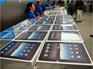 iPad supply catching up to demand