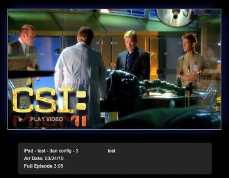 CBS.com Prepping HTML5 Video Playback for iPad