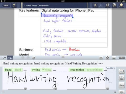 7notes HD For iPad Fills All Your Note-Taking Needs