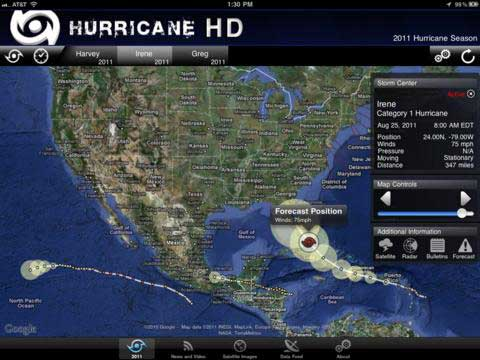 Hurricane HD for the iPad Blows Away the Competition