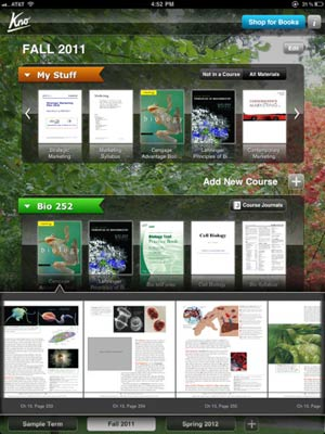 Kno's Textbooks App for iPad Adds New Features