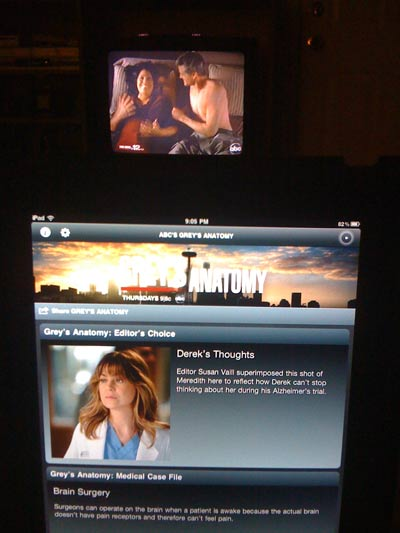 First Look: ABC's Grey's Anatomy Sync iPad App Review