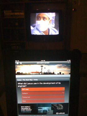 First Look: ABC's Grey's Anatomy Sync iPad App Review 13
