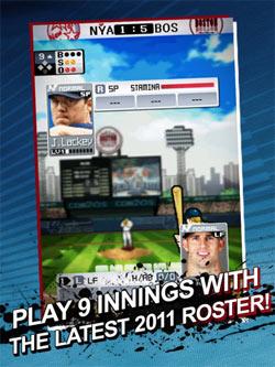 9 Innings Baseball Hits a Home Run on the iPad