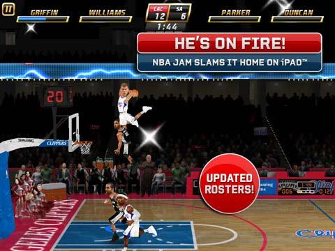 BOOMSHACKALACKA NBA Jam For iPad Brings Rim Rocking Fun