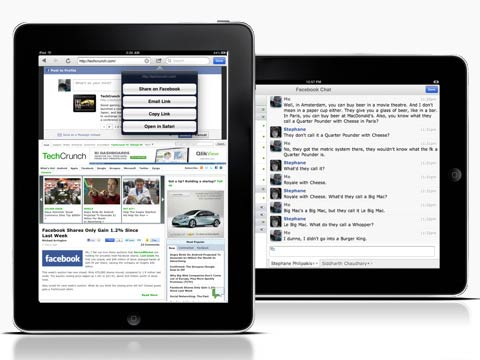 Friendly for Facebook iPad app