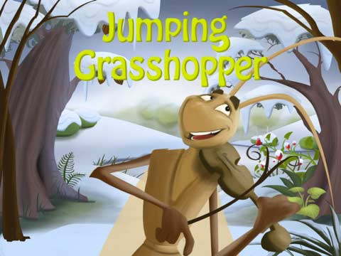 Free Educational iPad Apps for Kids - Jumping Grasshopper