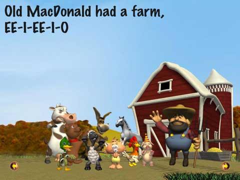 Kids can Sing - Old MacDonald Had a Farm for iPad