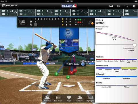 MLB at Bat For iPad Gives Baseball Fans What They Need When They're On The Go