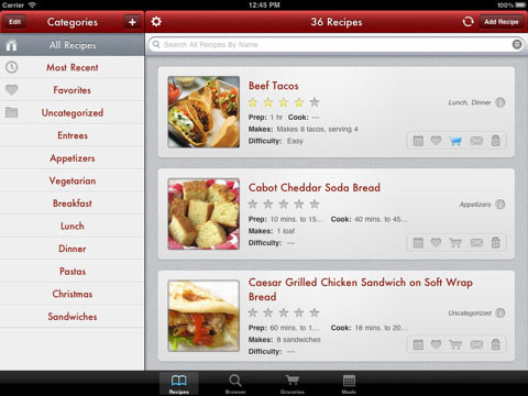 Paprika Recipe Manager: Best Cooking App for iPad