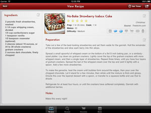Paprika Recipe Manager: Best Cooking App for iPad - 2